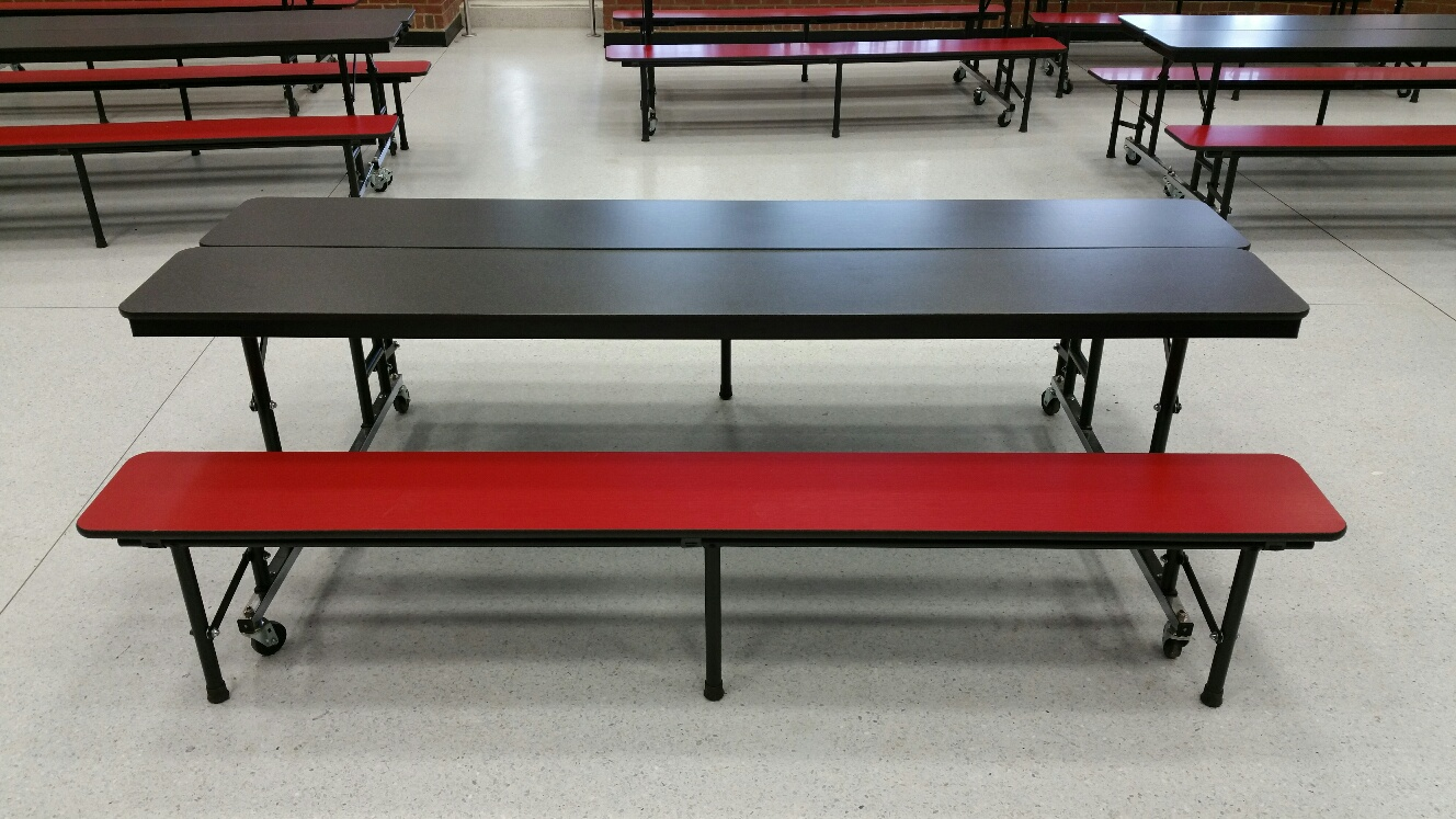 Cafeteria convertable bench