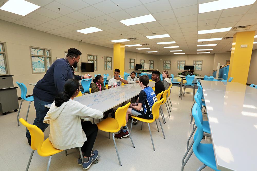 Markham Woods Middle School